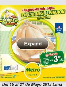 catalogo metro 15-21 mayo 2013