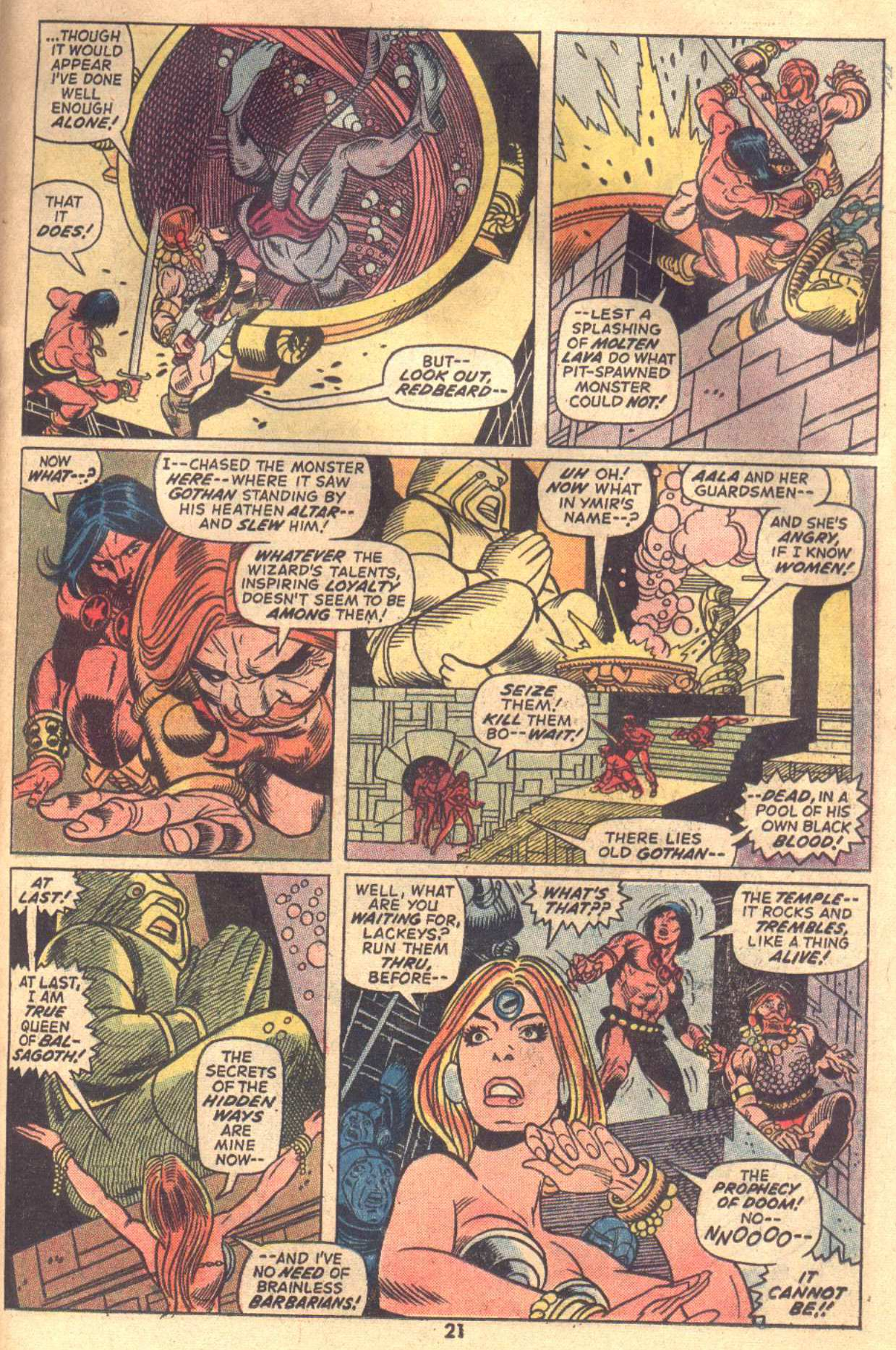Conan the Barbarian (1970) Issue #18 #30 - English 16