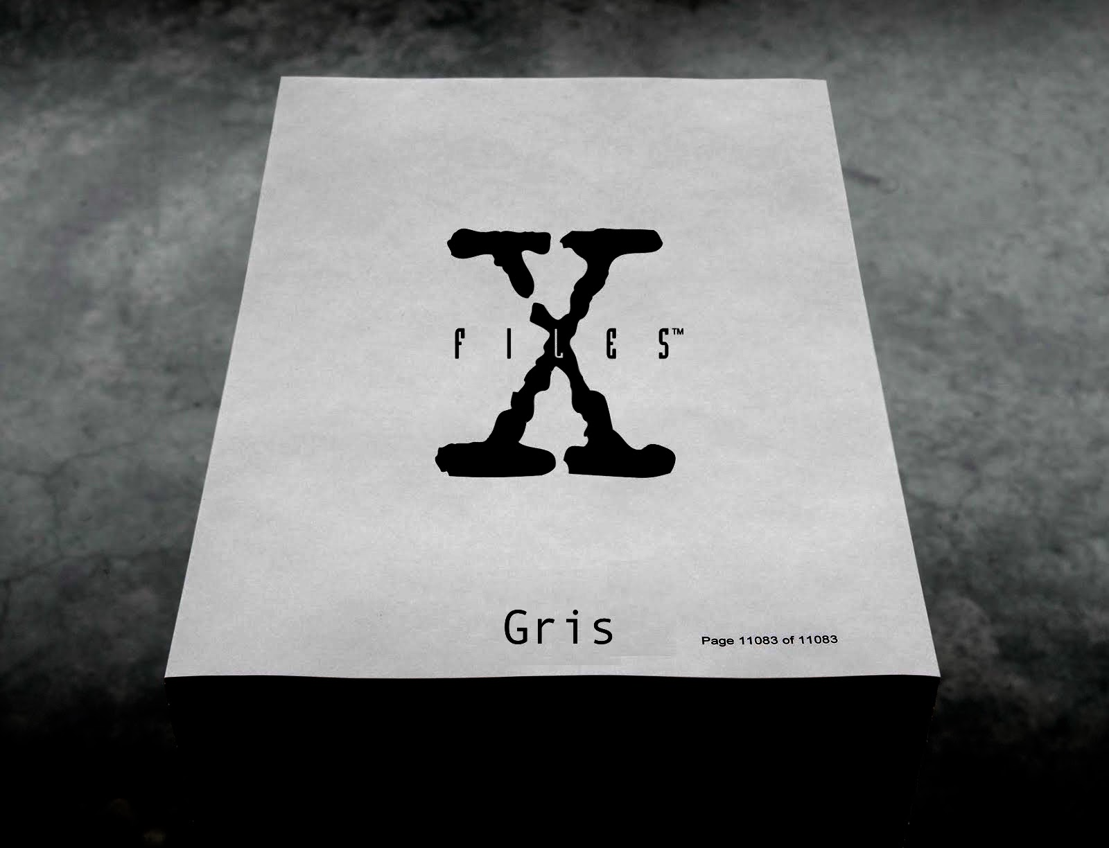 2018 TEASER: The X-Files Gris