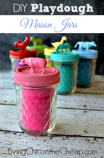 http://livingchiconthecheap.com/diy-playdough-mason-jars/