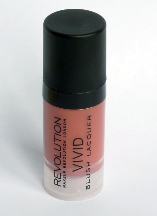 Makeup Revolution Vivid Blush Lacquer in Heat