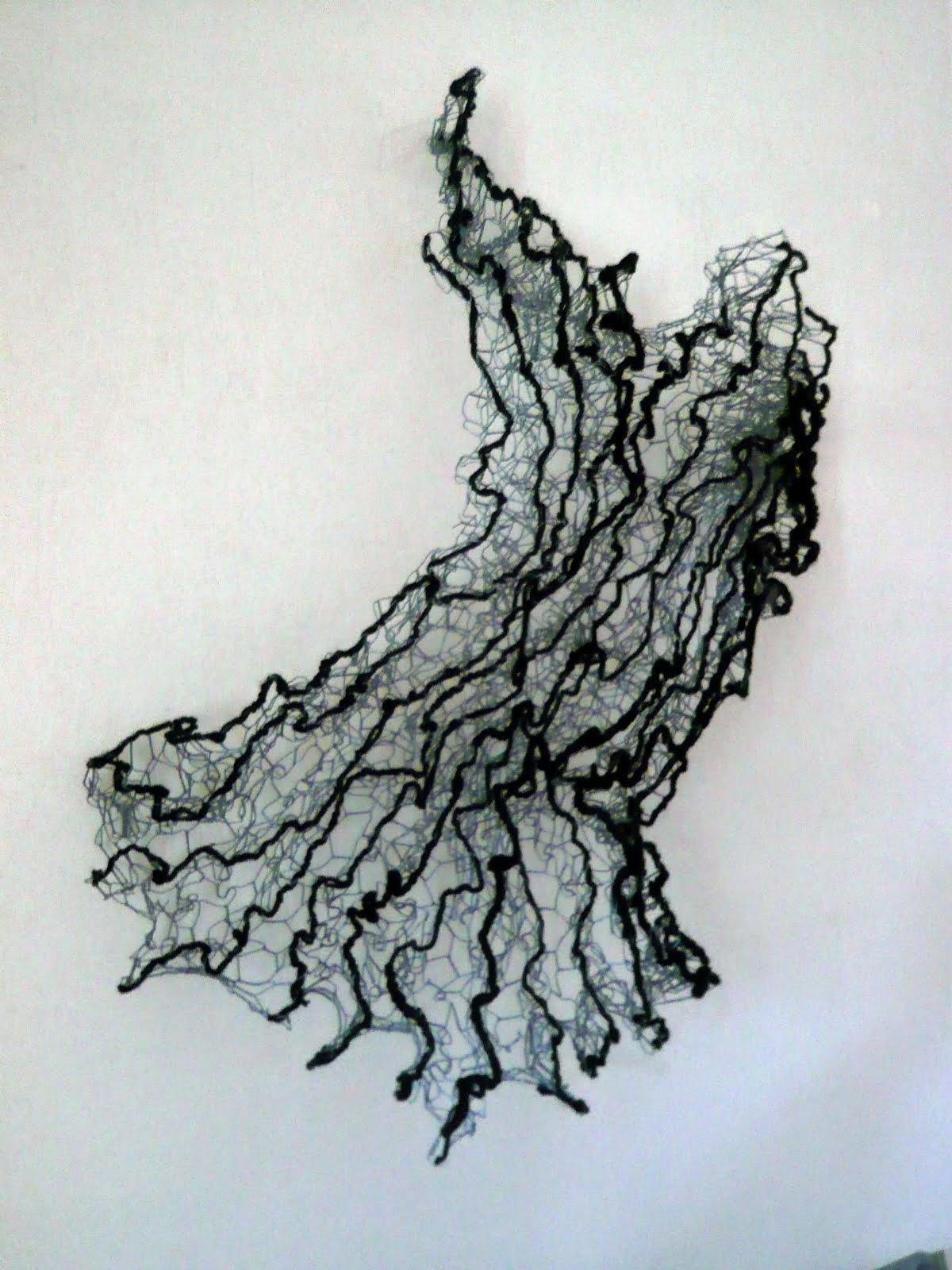 sculpture grillage