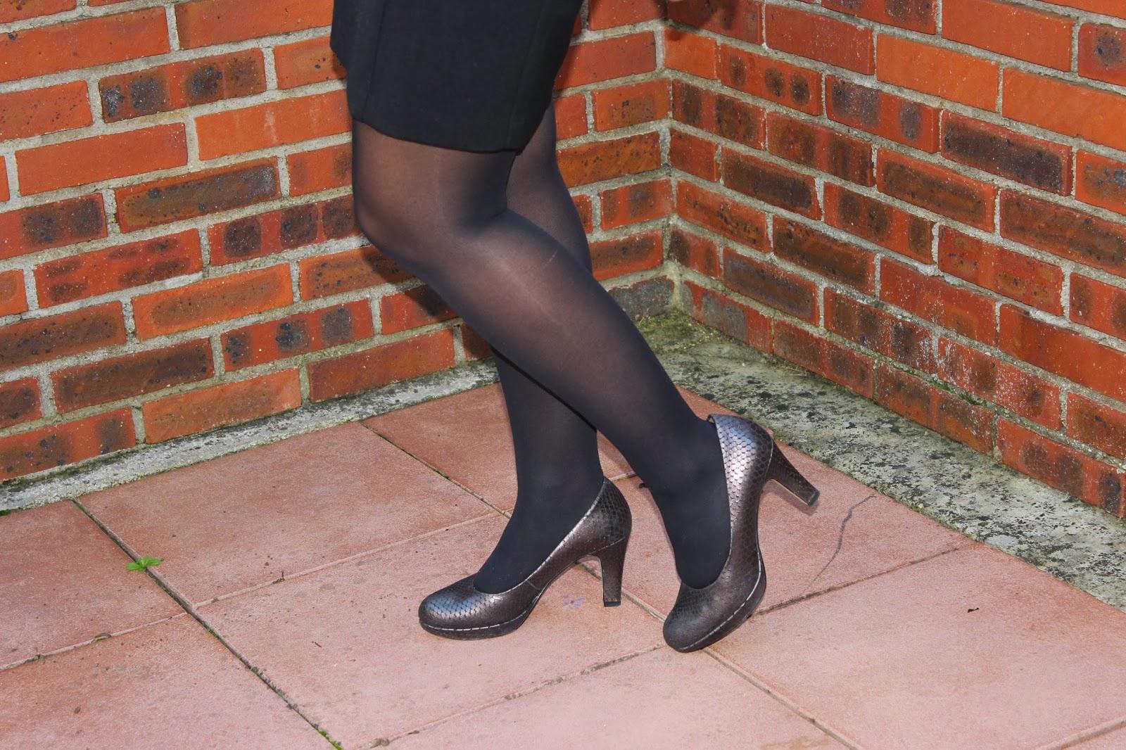 Robe Naf Naf, chaussures Clarks