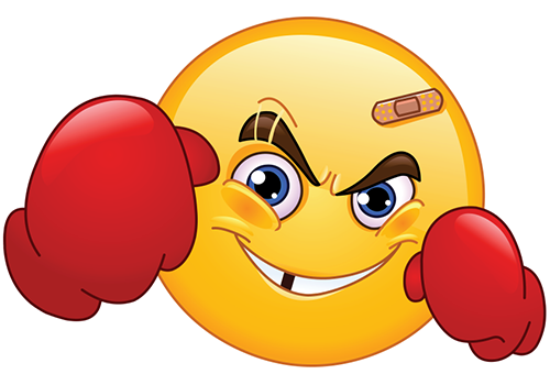 Boxer emoticon