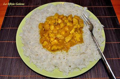 pollo al curry e riso basmati - ricetta indiana