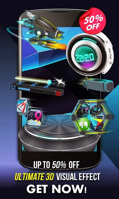Next Launcher 3D Shell v3.03