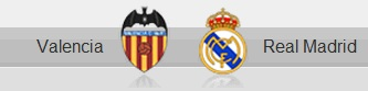 Valencia vs Real Madrid shields