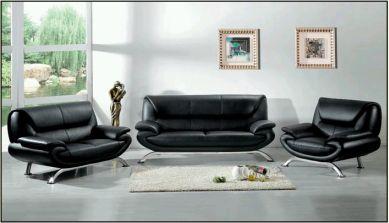 Muebles de sala negros for Muebles de sala de moda