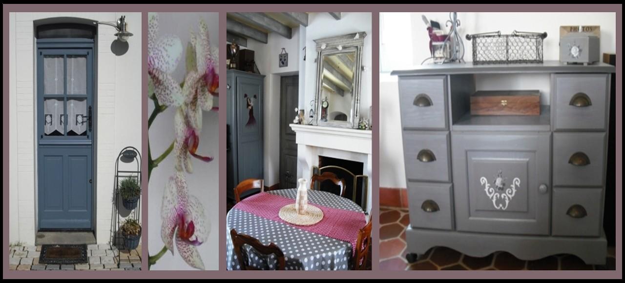 cours peinture d corative meubles peints patin s meuble patin gris. Black Bedroom Furniture Sets. Home Design Ideas