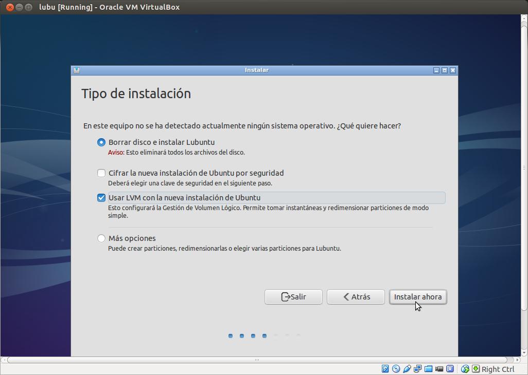 DriveMeca instalando Lubuntu paso a paso
