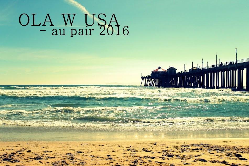 Au pair w Californii / W 2017 łobuzuję w Stanach :)