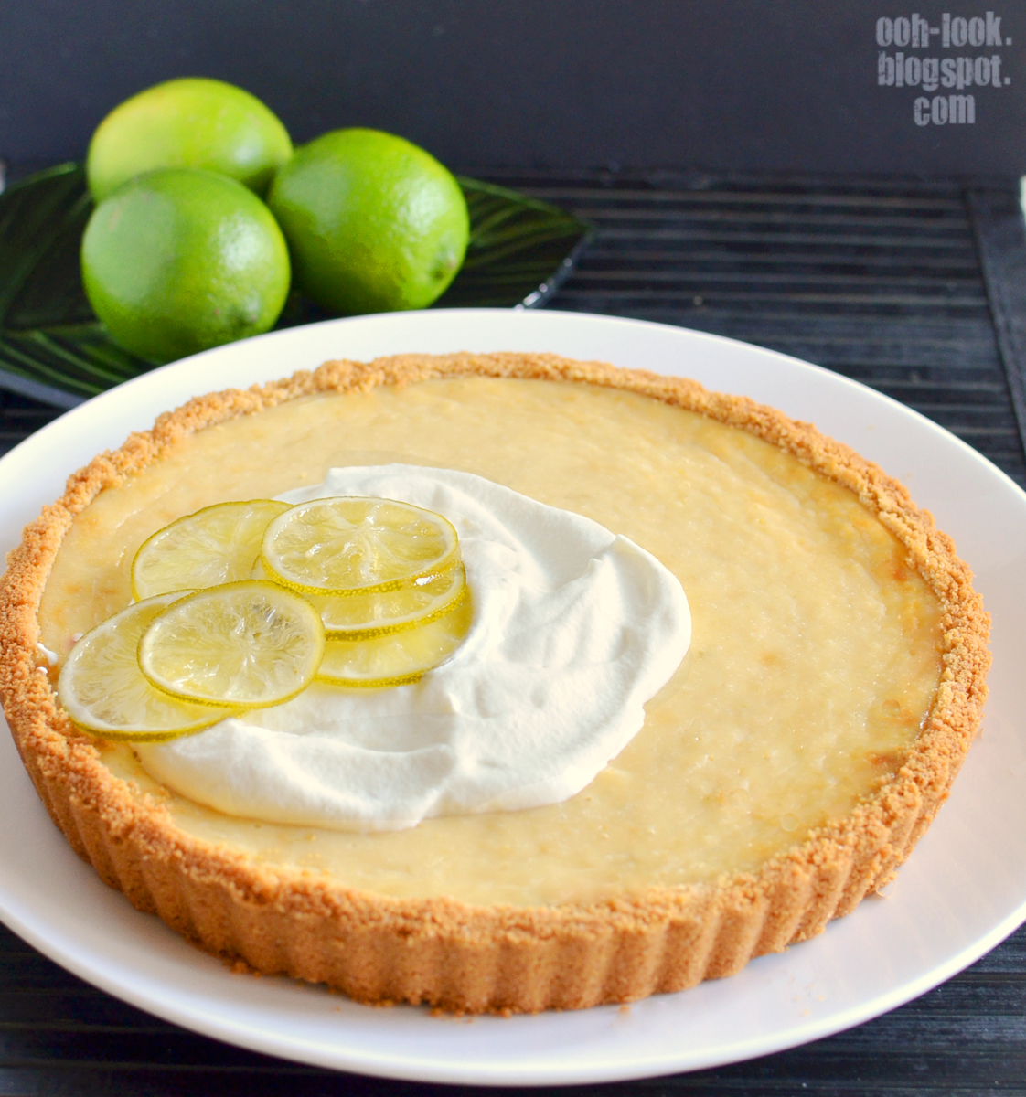 Ooh, Look...: A challenging Key Lime Tart