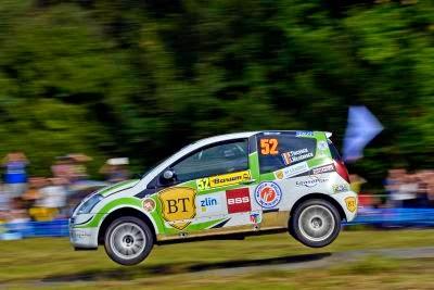 Florin Tincescu si Iulian Nicolaescu - Citroen C2 R2 Max - Barum Czech Rally Zlin