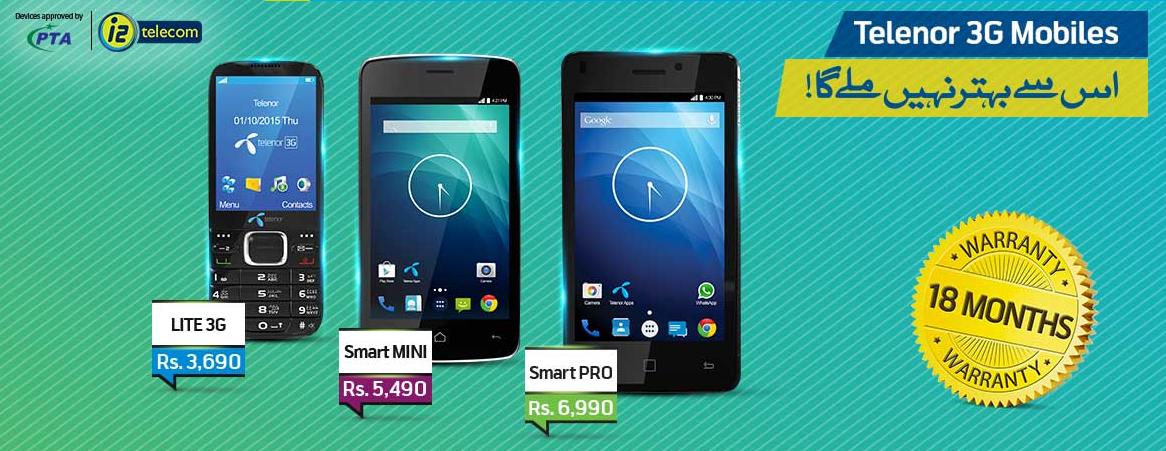 Telenor Easy Smart Lite 3G Smartphone Prices In Pakistan ...