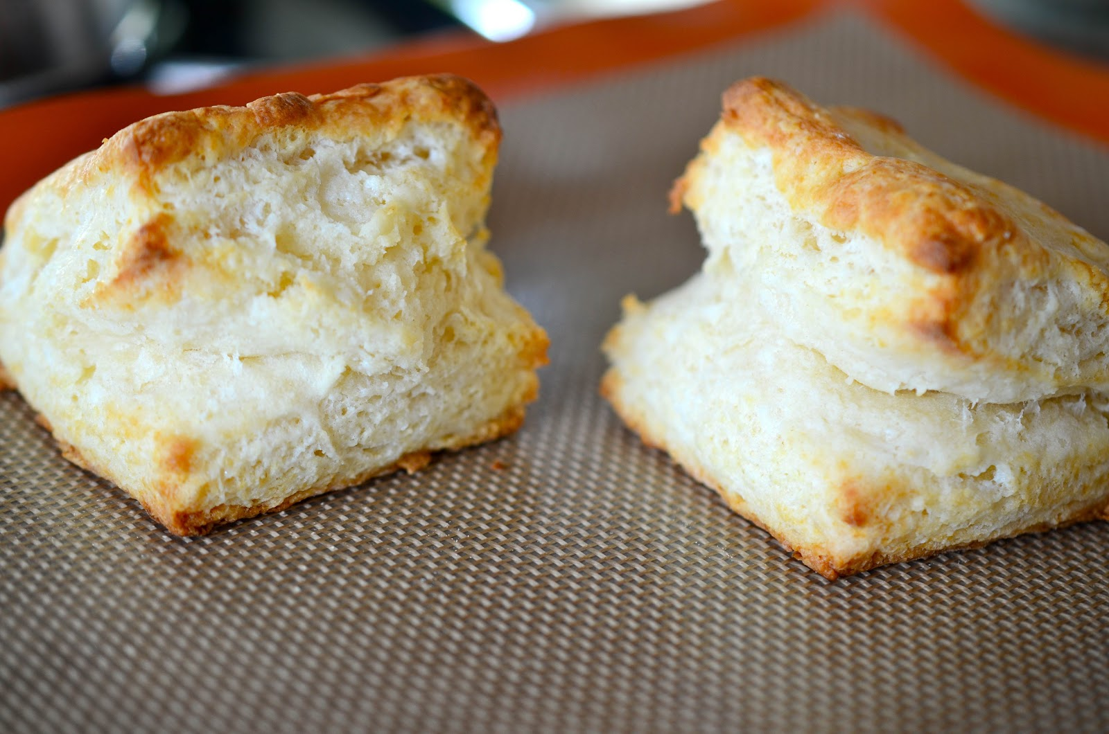 Omnivorous: Flaky Buttermilk Biscuits