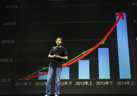 Xiaomi, CEO, beneficios 2014
