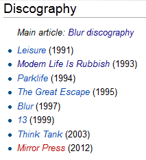 mirrorpress, mirror press blur, blur new album, blur wikipedia