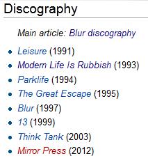 mirrorpress, mirror press blur, blur new album, blur wikipedia