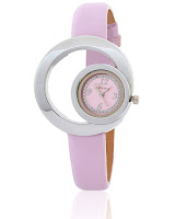 Buy Calvino Women's Pink Dial Watch at Rs.230: Buytoearn