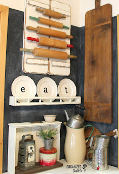 Plates & Plate Rack Kitchen Decor