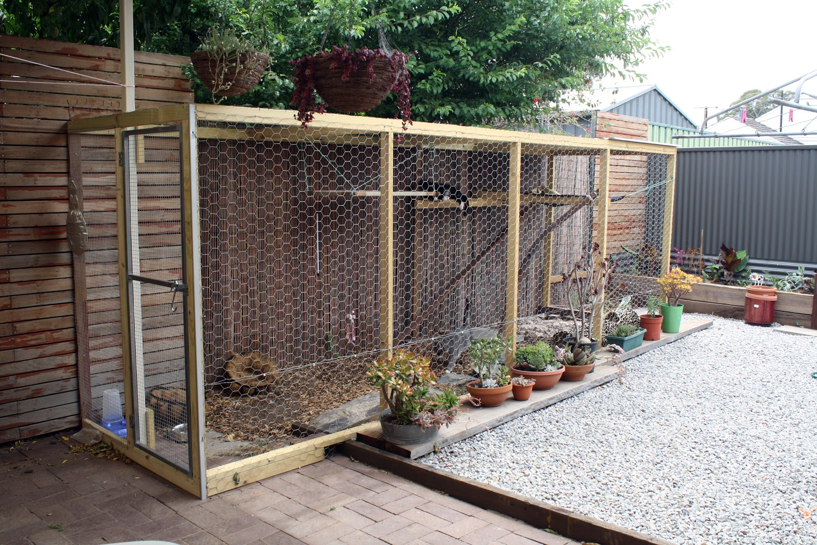 The Cats Den Cat House Outdoor Enclosure