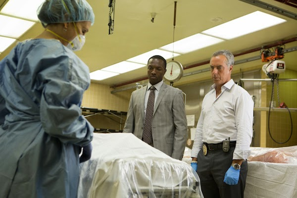 Jamie Hector and Titus Welliver in Bosch