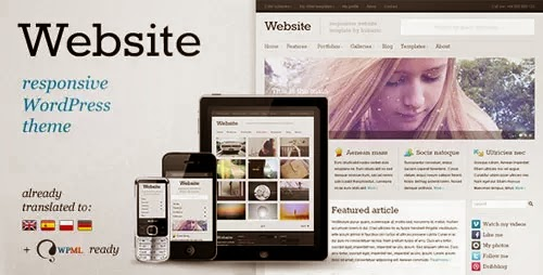 wordpress theme