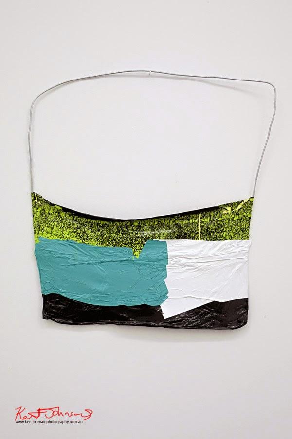 Huseyin Sami Wire Colour Hang (GAWB)  2014  acrylic on wire