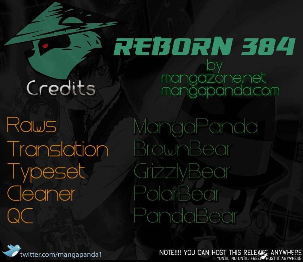 อ่านการ์ตูน Reborn 384[TH] ภาพที่ 1