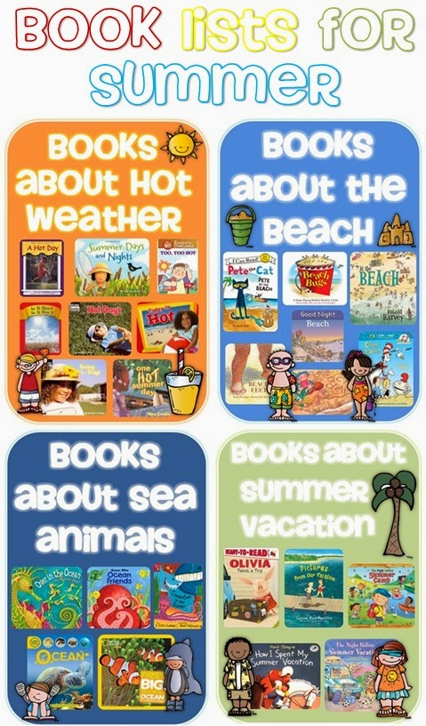Book Lists for Summer Clever Classroom Blog