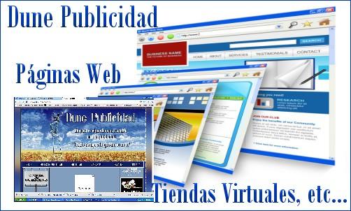 Hacemos tu web o Tienda Virtual