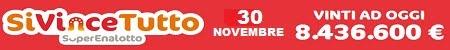 SiVinceTutto mercoledi 30 novembre 2016