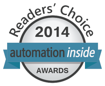 Automation Inside readers choice awards banner.