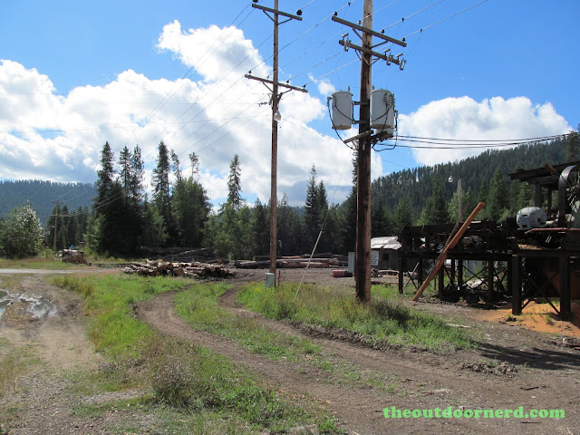 Outlet Campgrounds At Priest Lake, Idaho: Old Saw Mill 1
