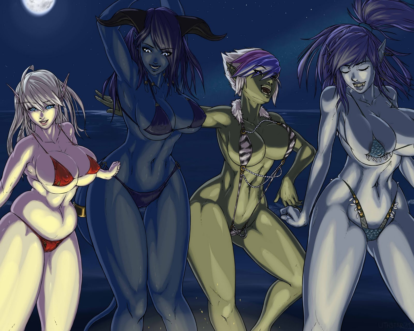 Night elf dance hentai cartoon vids