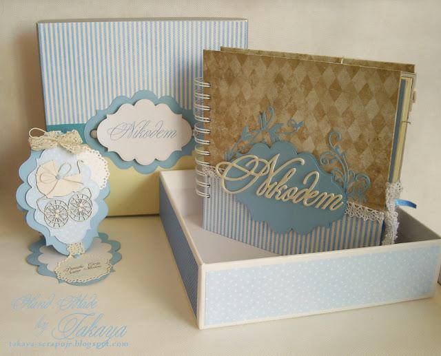 Album w pudełku; dekoracyjne pudełko; pudełko na album