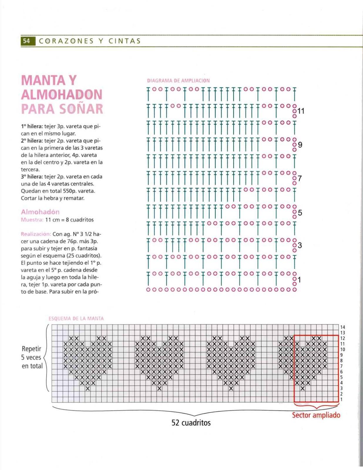 patrones asgaya: MANTA Y ALMOHADÓN PARA BEBÉ A CROCHET