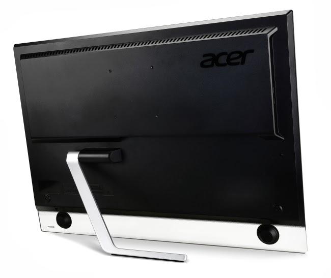 задняя сторона моноблока Acer ТА272HUL