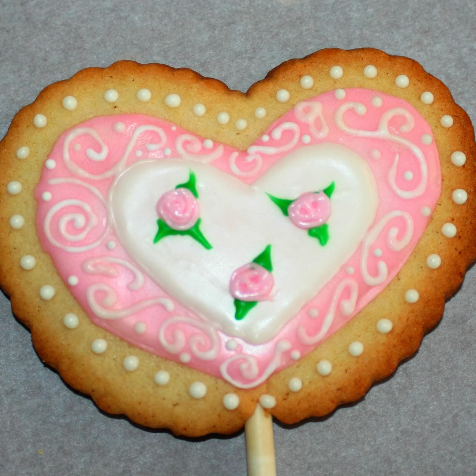 Valentine\'s Day Cookie Bouquet – Jordan\'s Easy Entertaining