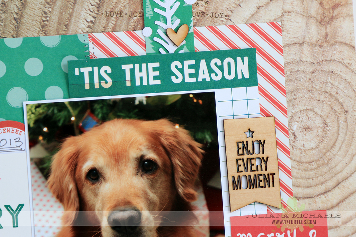 Scrapbook ideas for dogs - Christmas Scrapbook Page Ideas For Dogs By Juliana Michaels Featuring Elle S Studio Good Cheer