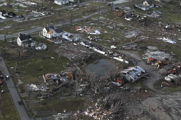 Tornado Wipes Entire Town Of Marysville Indiana Off The Map • Now ...