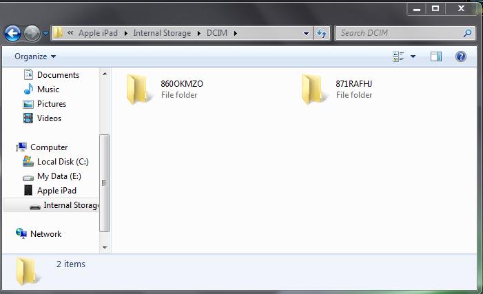 me-review foto anda dan memilih foto mana yang ini anda pindahkan PC