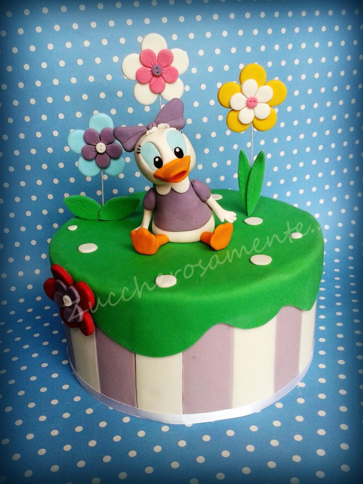 Cake Design Provincia Varese : Zuccherosamente...: Torta Paperina