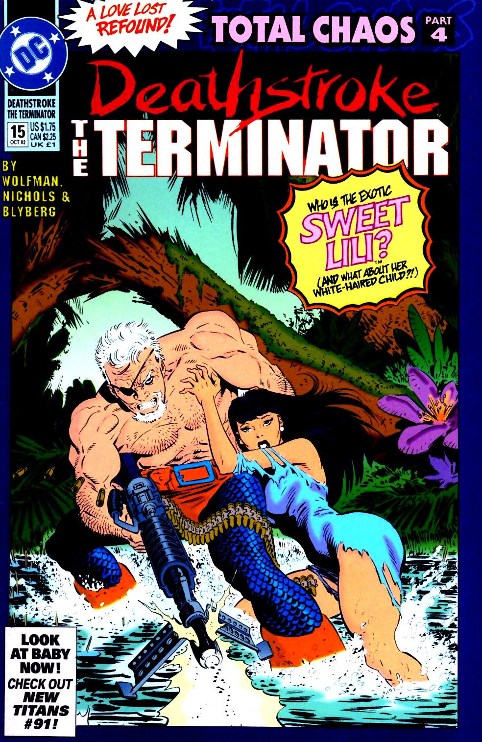 Deathstroke (1991) Issue #15 #20 - English 1