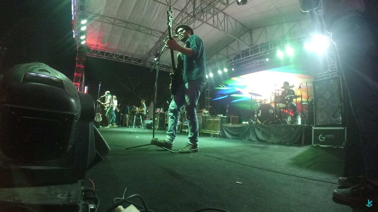 Suasana Konser Band Naif 07 November 2015