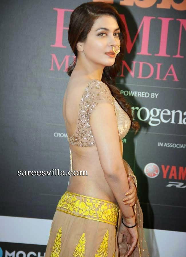 Ankita Shorey In Backless Blouse