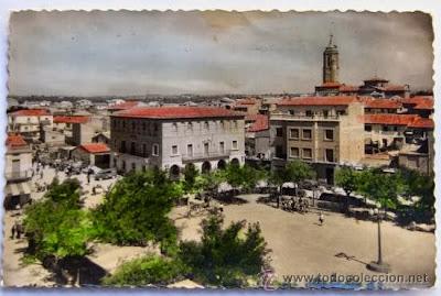 Plaza de España de Binéfar