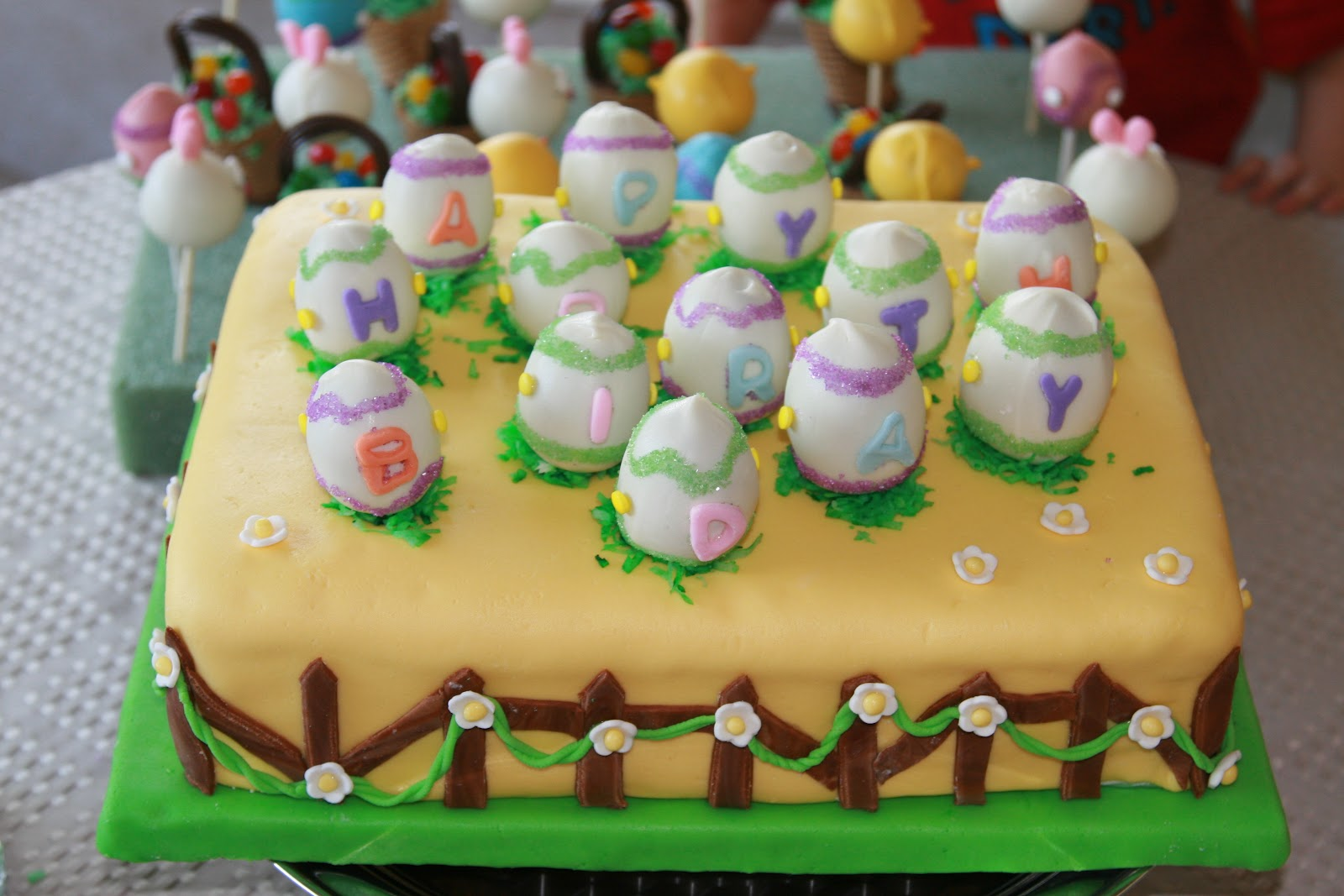 El diario de mi cocina especial de pascua cake pops for Decoracion de pascua