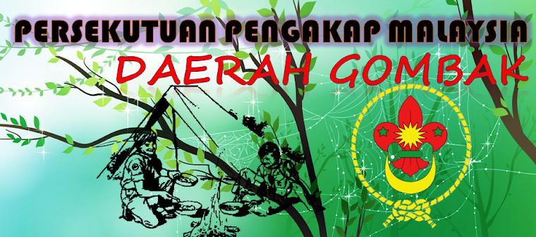 PERSEKUTUAN PENGAKAP MALAYSIA  DAERAH GOMBAK 2014