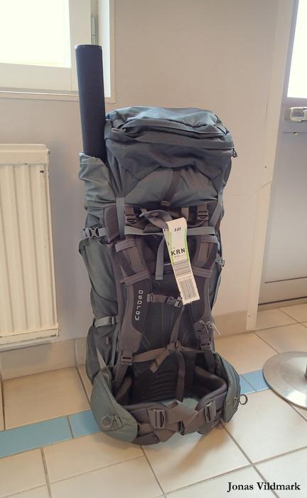 jonas vildmark osprey xenith 105 backpack